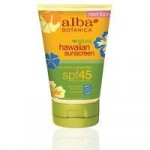 Alba Botanica Hawaiian Green Tea Sunscreen SPF45+
