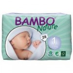 Bambo Nature Nappies (1 Newborn)