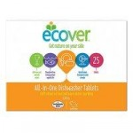 Ecover All In One Dishwasher Tablets – 25