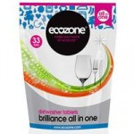 Ecozone Brilliance All In One Dishwasher Tablets – 33