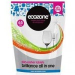 Ecozone Brilliance All In One Dishwasher Tablets – 65