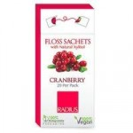 Radius Floss Sachets with Xylitol – Cranberry
