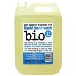 Bio-D Sanitising Fragrance Free Hand Wash Refill – 5L (Fragrance Free)