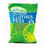 EcoForce Recycled Clothes Pegs