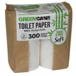 Greencane Paper Toilet Roll – 4 rolls