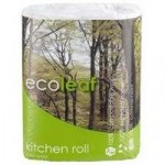 100% Recycled Paper Kitchen Roll – twin pack
