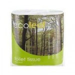 100% Recycled Toilet Paper – 4 Rolls