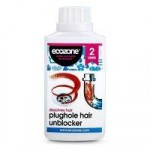 Ecozone Plughole Hair Unblocker