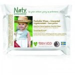 Naty Eco Wipes – Flushable Wipes Unscented