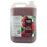 Faith in Nature Raspberry & Cranberry Shower Gel & Foam Bath 5L