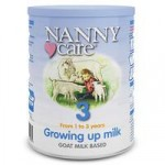 NANNYcare Goat Based Milk – Stage 3 Growing Up Milk 900g
