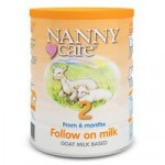 NANNYcare Goat Based Milk – Stage 2 Follow On Milk 900g