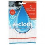 E-Cloth Antibacterial Wash & Wipe Kitchen Cloths (2 cloth pack)