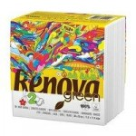 Renova Green 100% Recycled White Paper Napkins (70 pack)