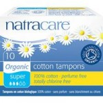 Natracare Organic Cotton Tampons (packs of 10) (Super (10))