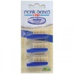 Monte-Bianco Adult Bristle Toothbrush Replacement Heads x 3 (Medium)