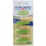 Monte-Bianco Adult Bristle Toothbrush Replacement Heads x 3 (Sensit…