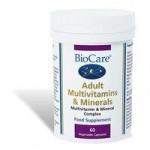 BioCare Adult Multivitamins & Minerals – 60 Capsules
