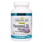 Natures Aid Flaxseed Oil 1000Mg – 90 capsules