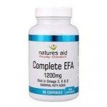 Natures Aid Complete EFA Capsules 1200mg (Omega 3, 6 and 9) – 90 ca…