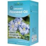 Natures Aid Organic Flaxseed Oil Capsules (Omega 3) – 90 capsules