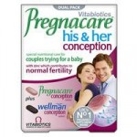 Vitabiotics Pregnacare His & Her Conception – 60 tablets