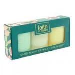Faith in Nature Handmade Natural Soaps Gift Set