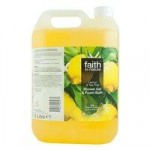 Faith in Nature Lemon & Tea Tree Shower Gel & Bath Foam – 5L