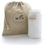 Moa Balm Bamboo Cloth in a Hemp Bag