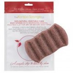 Konjac 6 Wave Body Konjac Sponge Red Clay – for Dry or Mature Skin