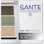 Sante Eyeshadow Trio (natural green)
