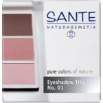 Sante Eyeshadow Trio (rose)
