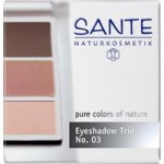 Sante Eyeshadow Trio (rose wood)