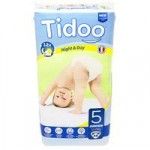 Tidoo Night and Day Nappies – Junior Size 5 (12-25kg)