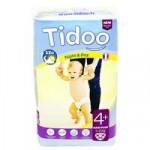 Tidoo Night and Day Nappies – Maxi Plus Size 4+ (9-20kg)