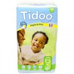 Tidoo Night and Day Nappies – XL Size 6 (16-30kg)