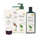 A'kin Hair & Body Unscented Trio Set (save yourself 13)
