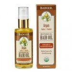 Badger Argan Hair Oil – for dry and damaged hair