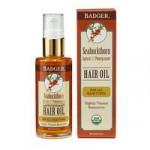 Badger Seabuckthorn Hair Oil – Overnight Restorative Treatment For …